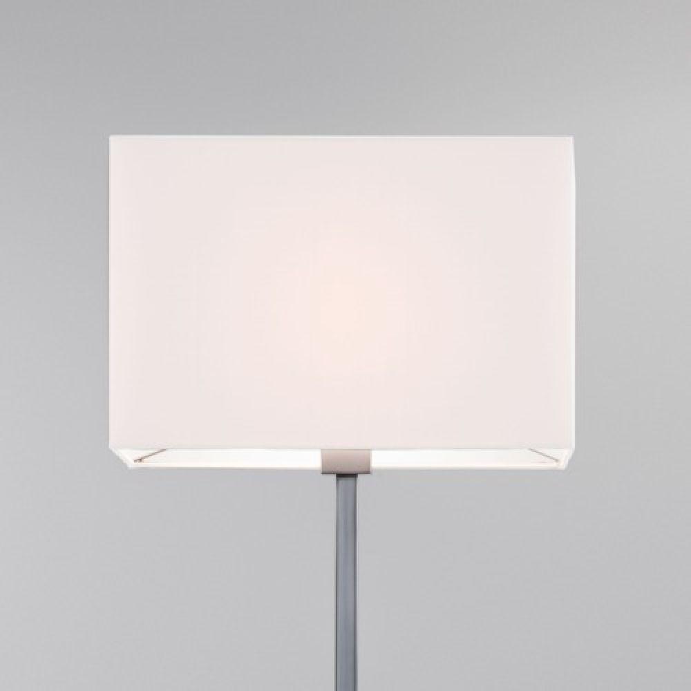 Astro Lighting 5001002 Park Lane Floor 4002 Rectangular White Fabric Shade