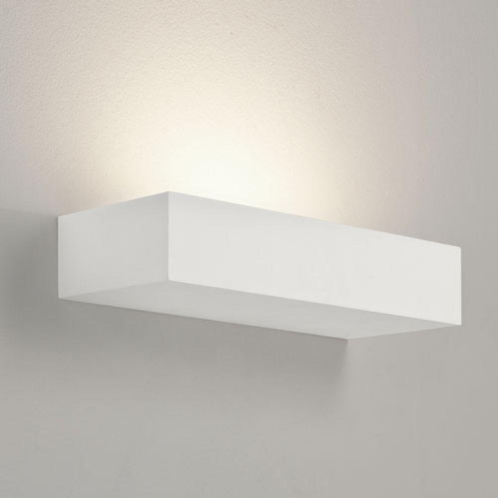 Astro Lighting 1187005 Parma 200 7038 Interior Wall Light. White Plaster Finish