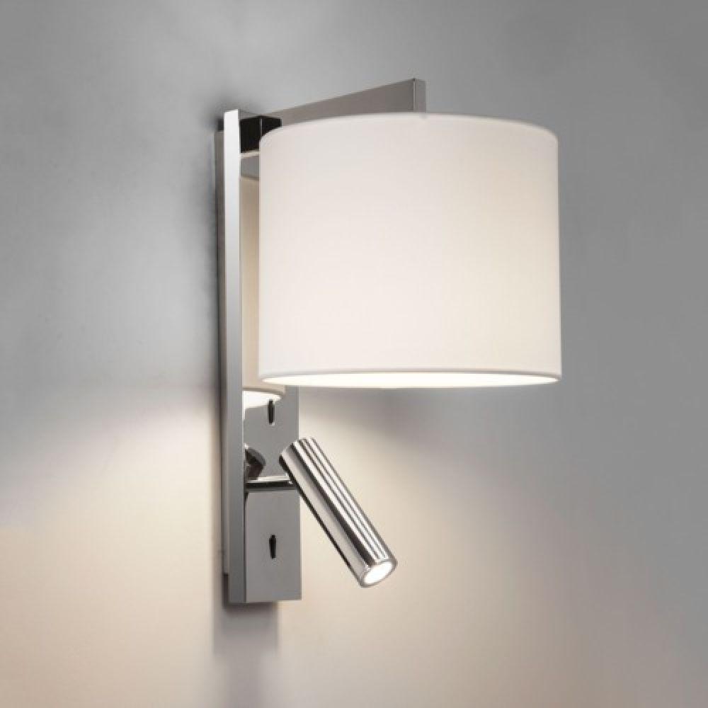 Astro Lighting 1222018 Ravello LED 7457 Interior Wall Light. Polished Chrome Finish