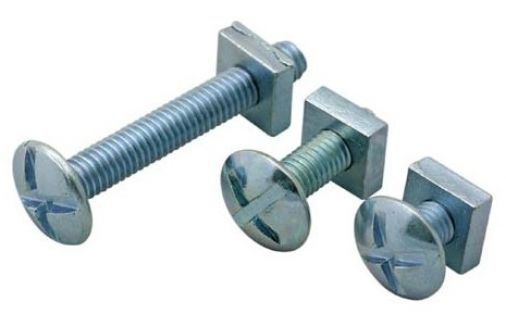 Roofing Nuts & Bolts M6 x 50 (each)