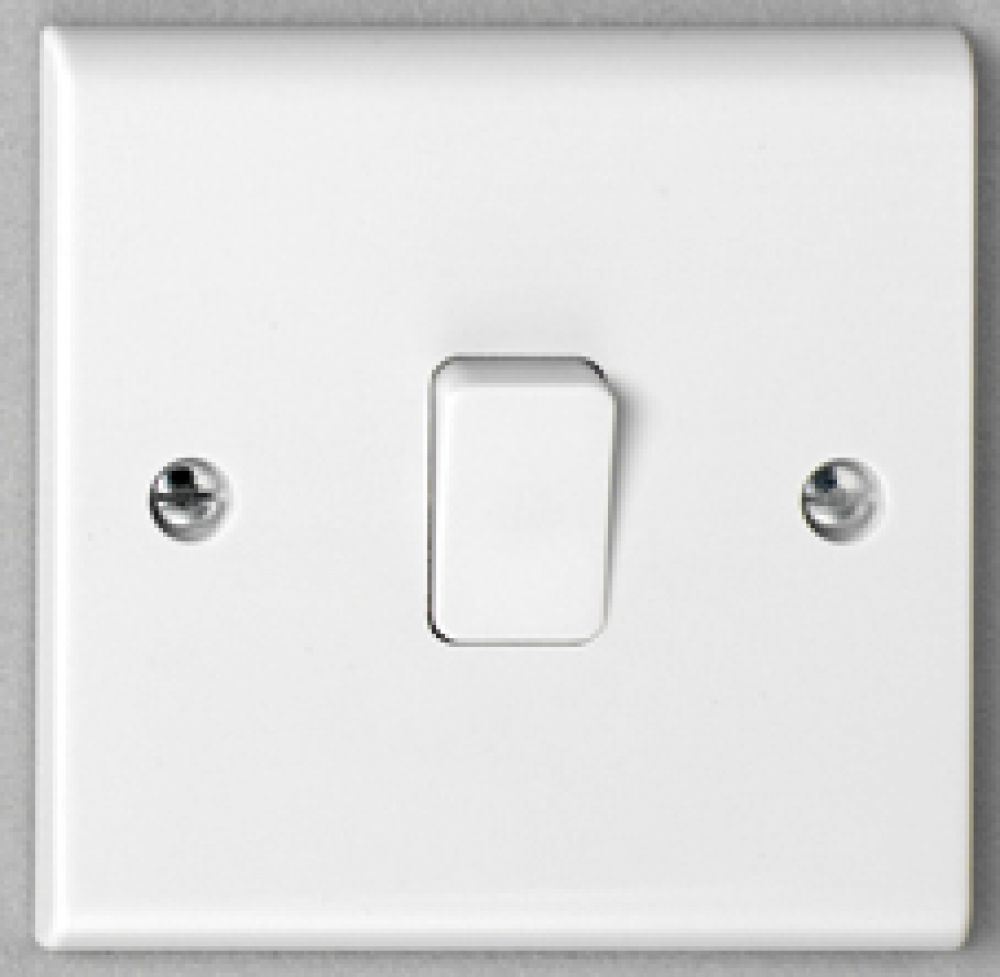 Deta S1203 1 Gang 2 way 10A Plate Switch