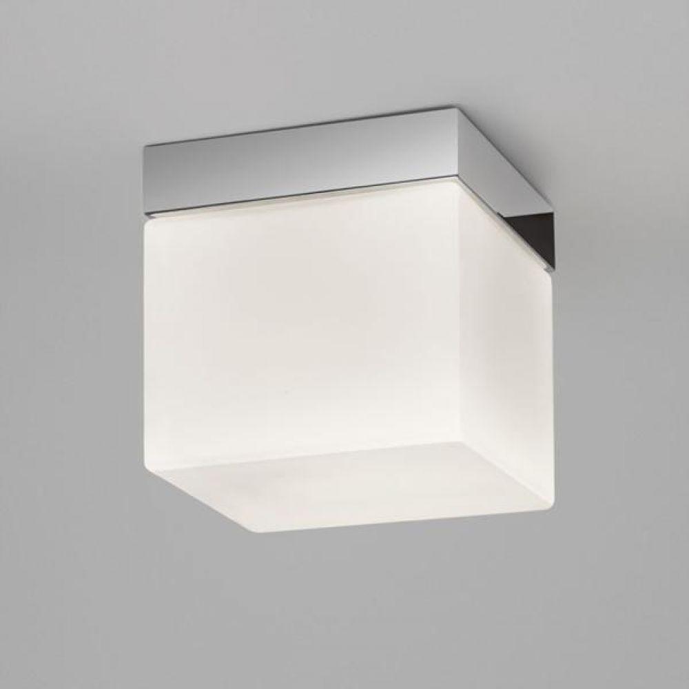 Astro Lighting 1292002 Sabina Square 7095 Bathroom Ceiling Light. Polished Chrome Finish