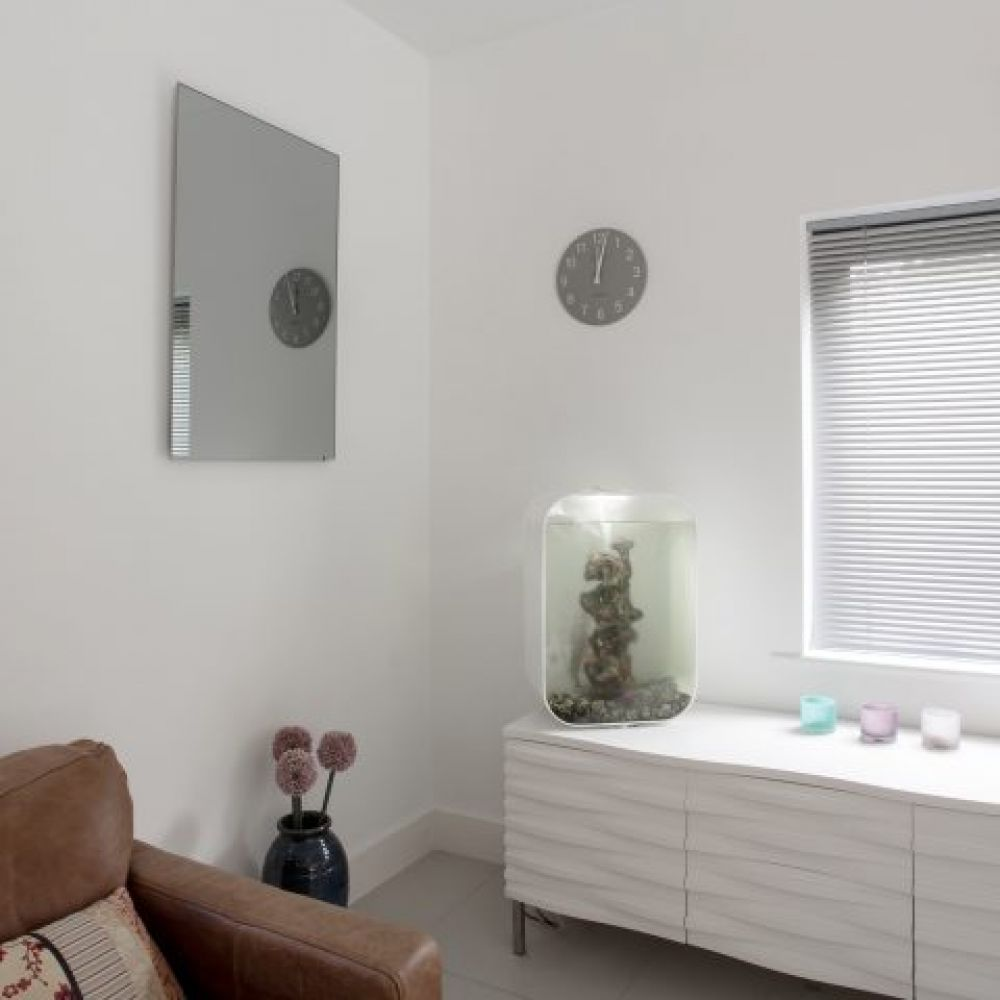 Herschel 420W Inspire Mirror Frameless Infrared Panel Heater