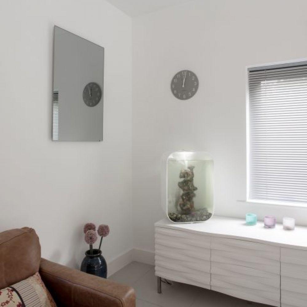 Herschel 550W Inspire Mirror Frameless Infrared Panel Heater