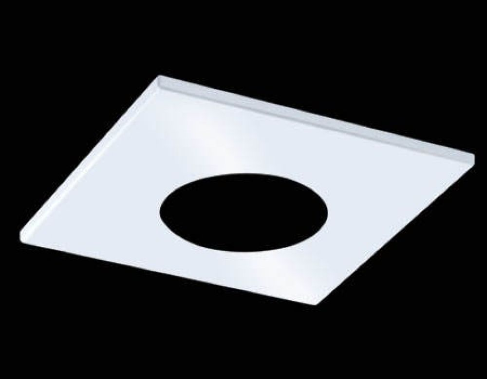 Collingwood H2 PRO Square Matt White Bezel for H2 PRO 550 and H2 PRO 700