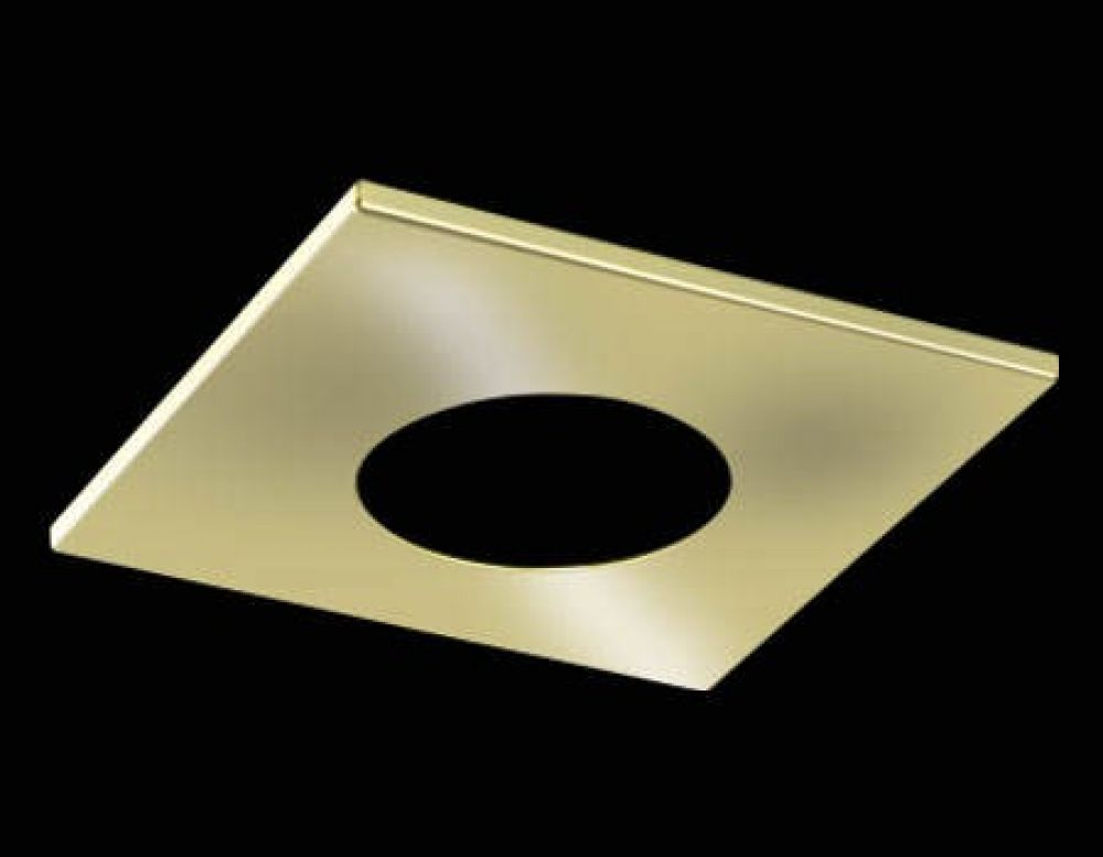 Collingwood H2 PRO Square Polished Gold Bezel for H2 PRO 550 and H2 PRO 700