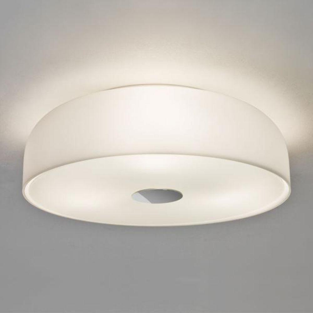 Astro Lighting 1328001 Syros 7189 Bathroom Ceiling Light. Opal Glass Finish