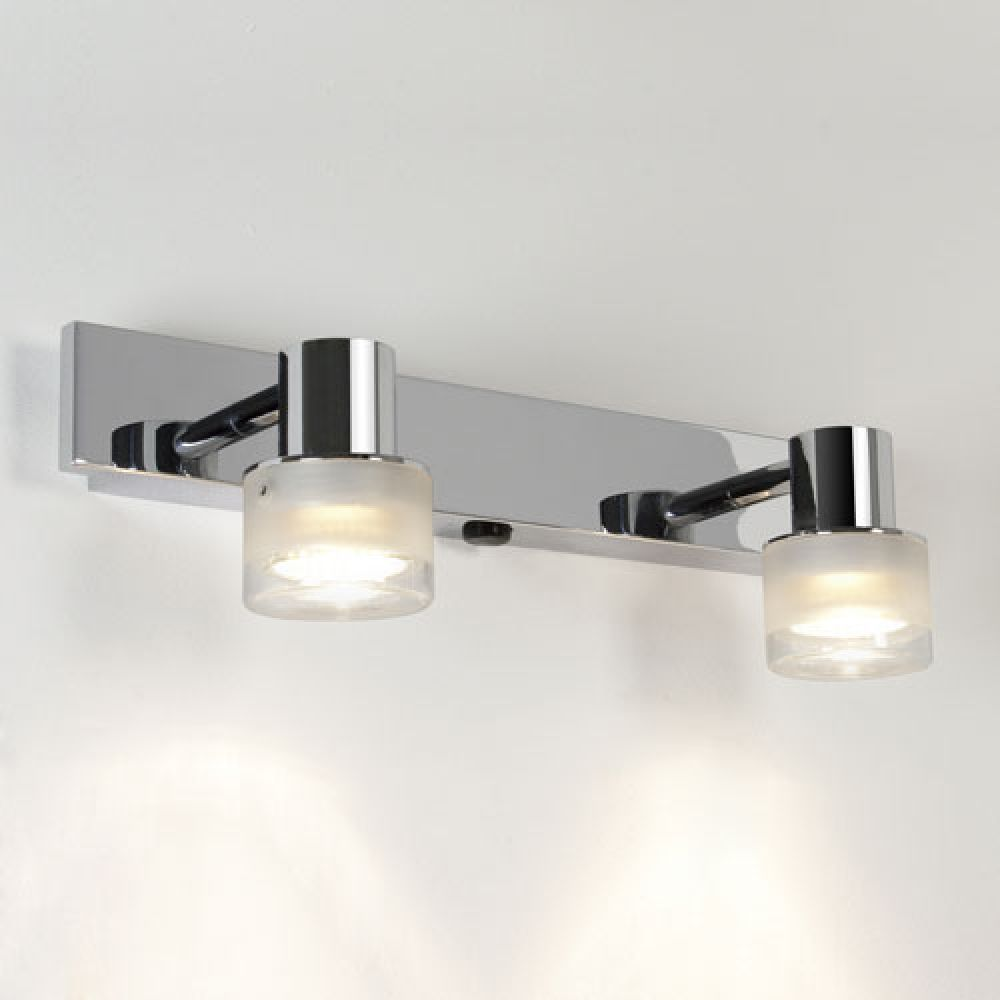Astro Lighting 1285004 Tokai 6138 Fixed Overhead Mirror Light. Polished Chrome Finish