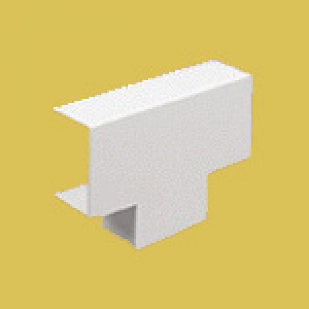 Marshall Tufflex Mini Trunking Equal Tee 38 x 25mm
