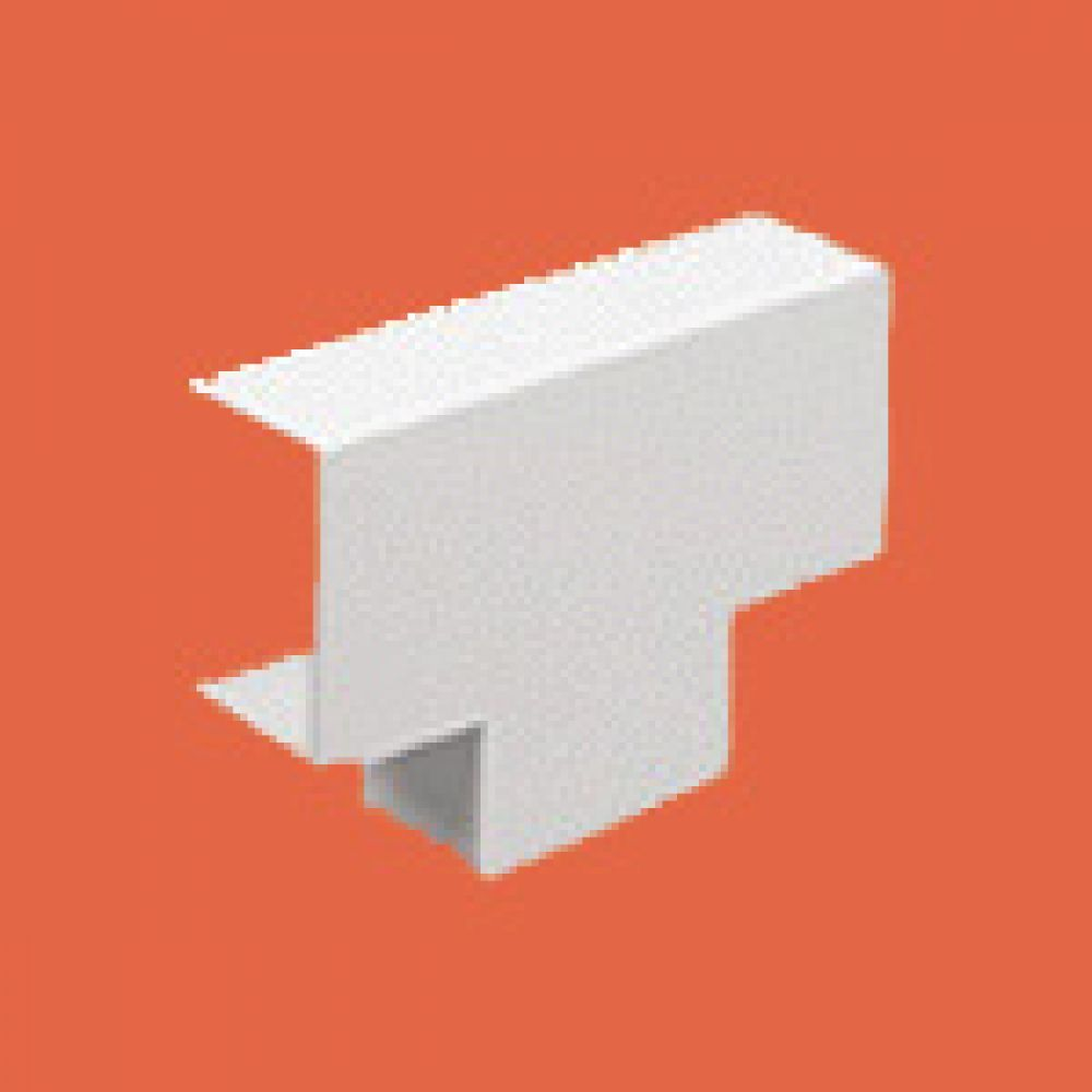Marshall Tufflex Mini Trunking Equal Tee 38 x 38mm