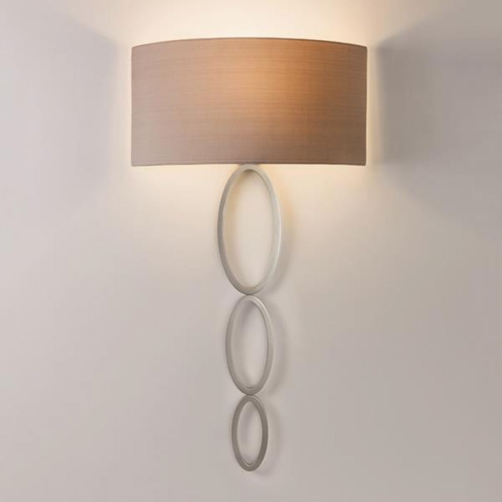 Astro Lighting 1356003 Valbonne 7398 Interior Wall Light. Matt Nickel Finish
