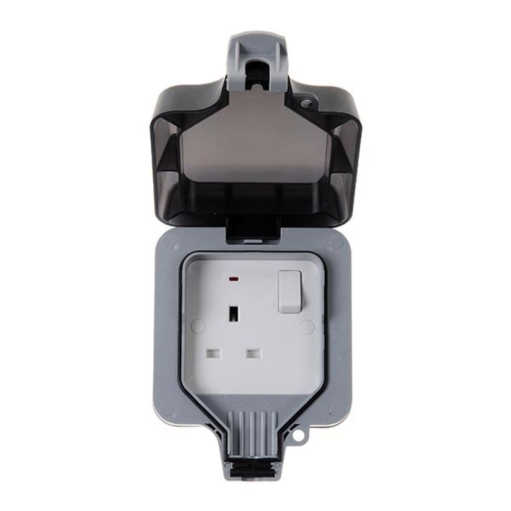 BG Nexus Storm IP66 1 Gang 13 Amp Switched Socket