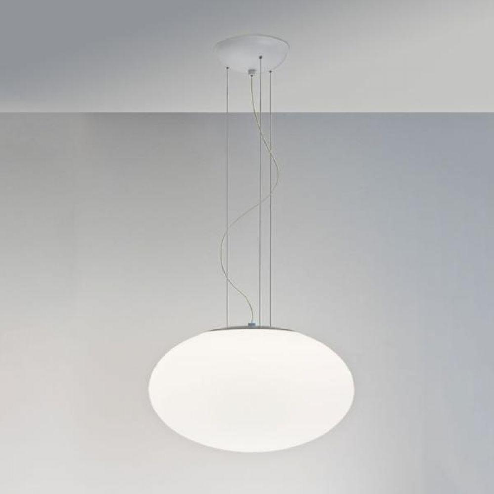 Astro Lighting 1176003 Zeppo Pendant 400 7094 Interior Pendant. Polished Chrome & White Opal Glass F