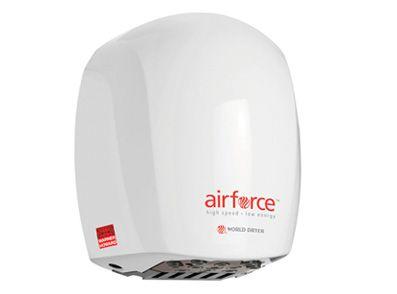 Warner Howard Airforce Low Energy Hand Dryer White