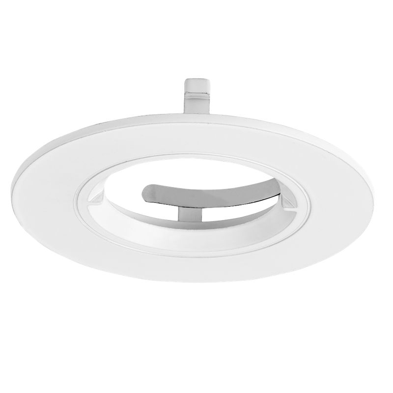 Aurora EFD™ PRO 90mm Fixed Aluminium Downlight Bezel Matt White