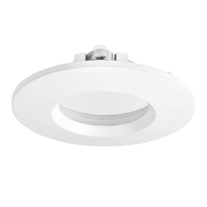 Aurora EFD™ PRO 90mm IP65 Aluminium Downlight Bezel White
