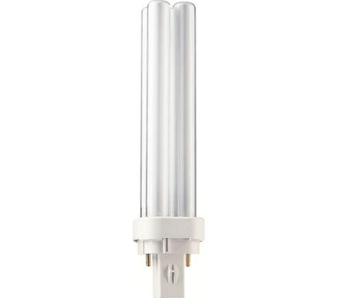 Dulux D 18W Cool White 2-Pin Compact Fluorescent Lamp G24d-2 Cap 240V