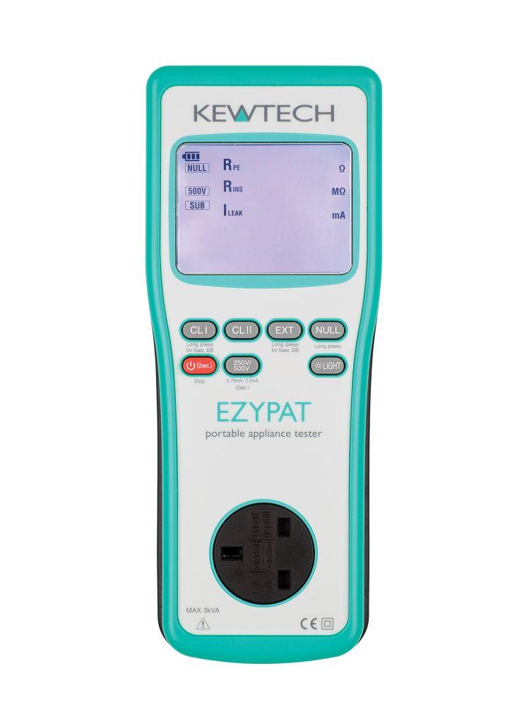Kewtech EZYPAT Battery operated PAT tester