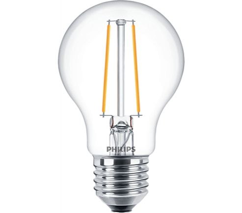 Philips 5W LED Filament Golfball Clear ES 827 Dimmable Warm White