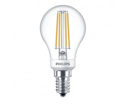 Philips 5W LED Filament Golfball Clear SES 827 Dimmable Warm White