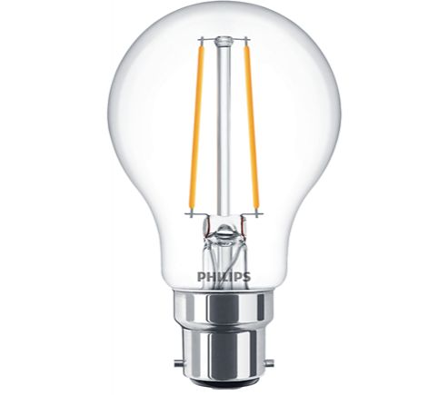 Philips 5W LED Filament GLS BC Dimmable Warm White 827