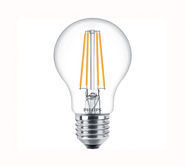 Philips 5W LED Filament GLS ES Dimmable Warm White 827