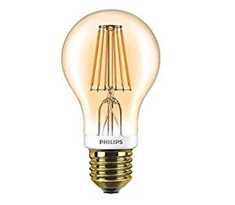 Philips 7.5W LED Filament GLS ES Dimmable Very Warm White 820