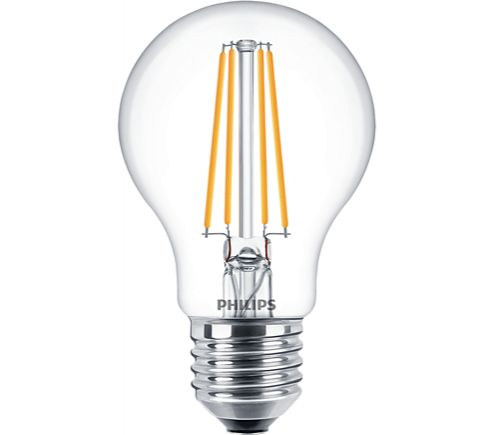 Philips 8W LED Filament GLS ES Dimmable Warm White 827