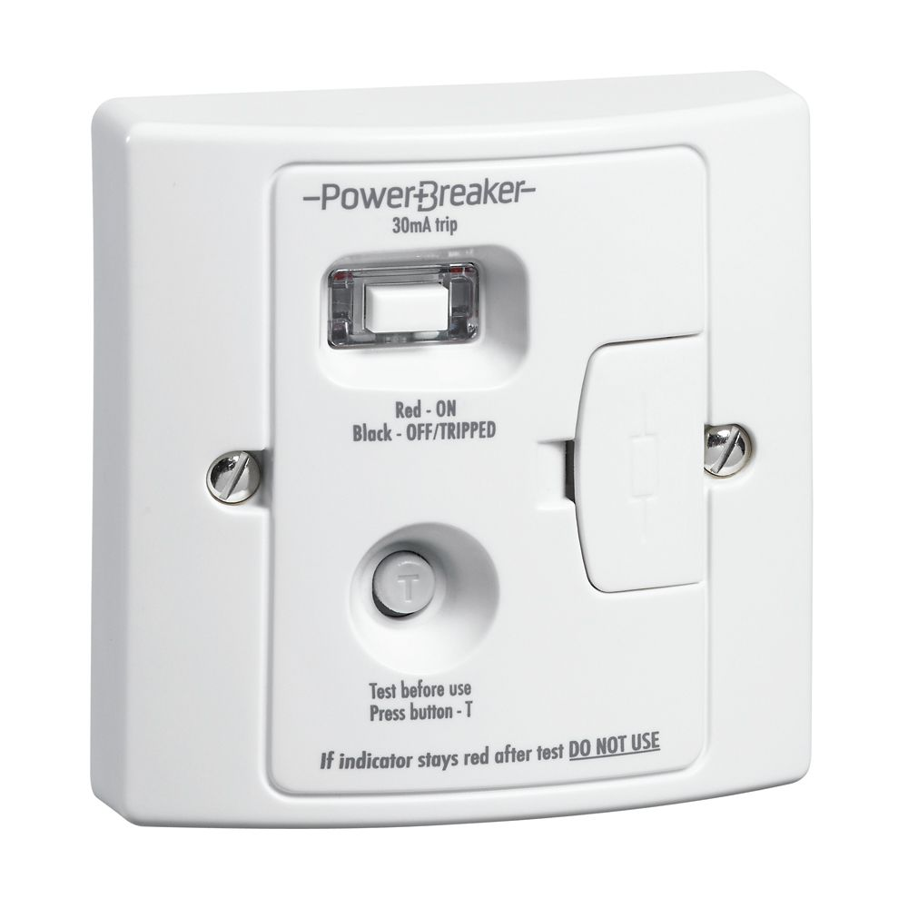 Greenbrook PowerBreaker RCD Fused Spur Passive - 30mA