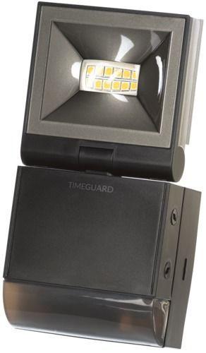 Timeguard 10W LED Compact PIR Floodlight Single Flood – Black