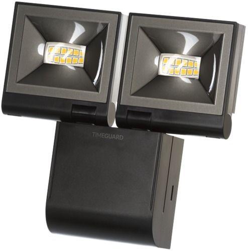 Timeguard LED200FLBE 2x 10W LED Compact Floodlight Twin Flood – Black