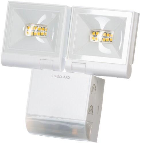 Timeguard LED200PIRWHE 2x 10W LED Compact PIR Floodlight Twin Flood – White