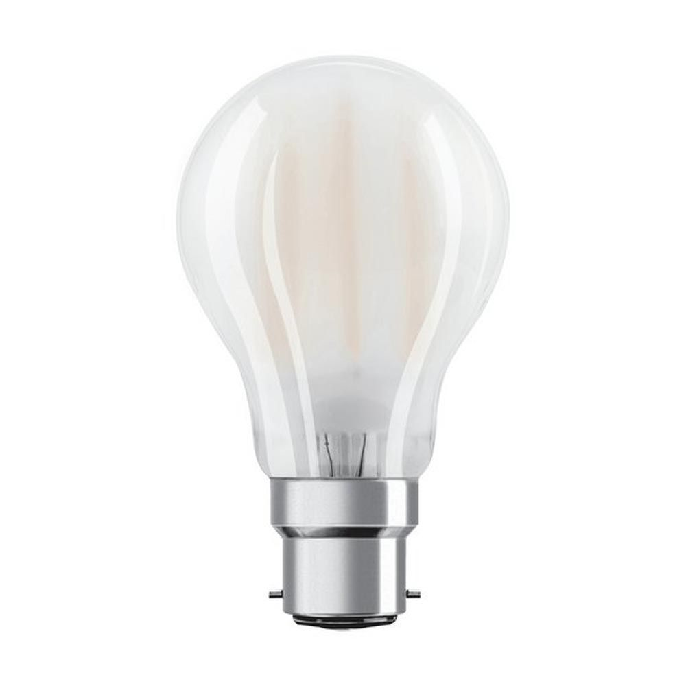 Osram 7W LED GLS Dimmable Warm White Frosted  BC Lamp