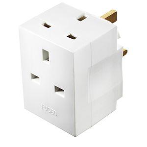 BG 2 Socket Adaptor Plug