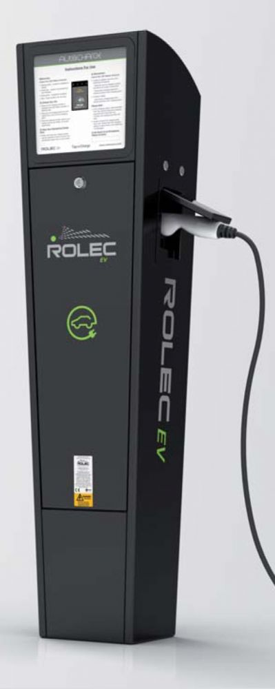 Rolec Auto Charge EV Pedestal Fast Charge