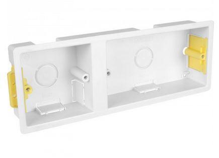 1 + 2 Gang 35mm Dry Lining Box