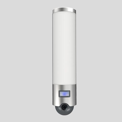 Lutec Elara Stainless Steel Wi-Fi LED Flood with Camera