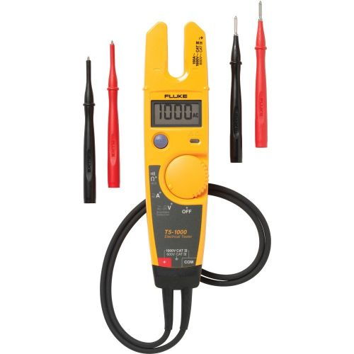 Fluke T5-1000 1000V Voltage, Continuity and Current Electrical Tester with OpenJaw Current