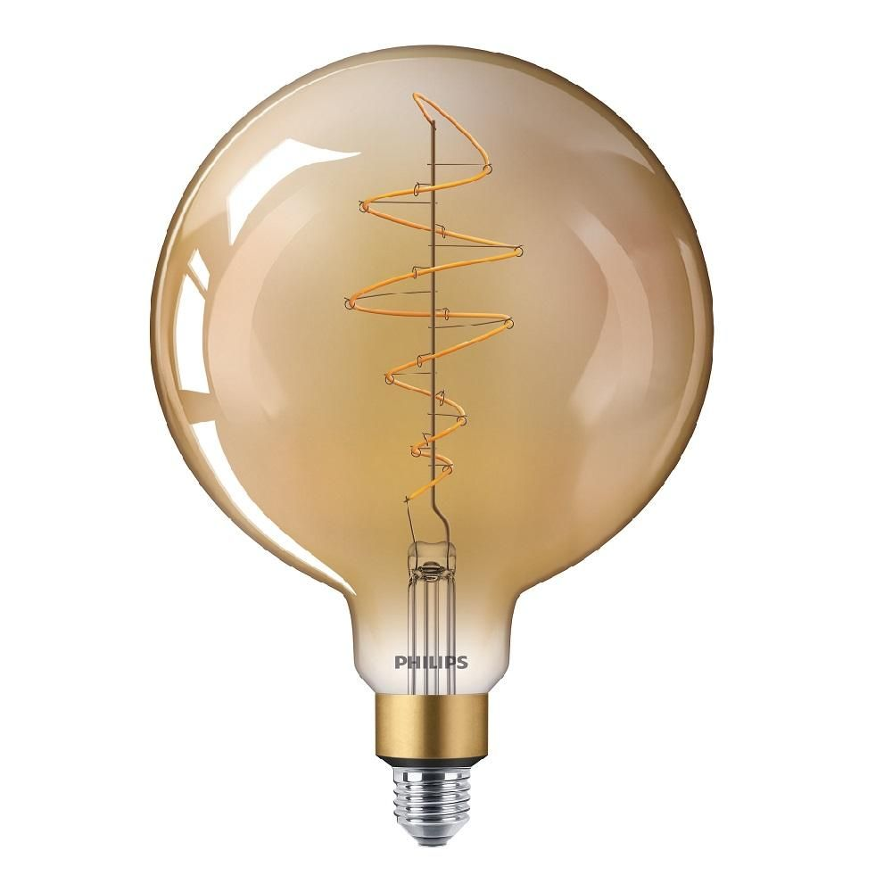 Philips 40W LED Giant Filament Lamp G200 ES Dimmable Very Warm White