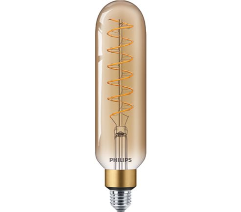 Philips 40W LED Giant Filament Lamp T65 ES Dimmable Very Warm White